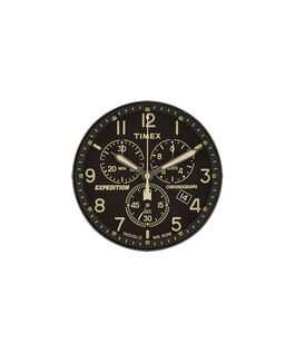 Dial negro/Minutero crema  large