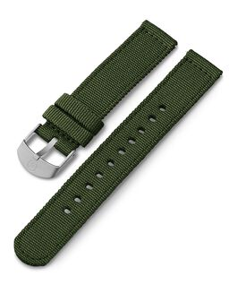 Correa de tela de 18mm Verde large