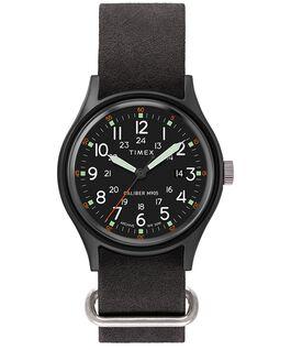 Reloj MK1 de 40mm con correa de piel lavada a la piedra Negro large