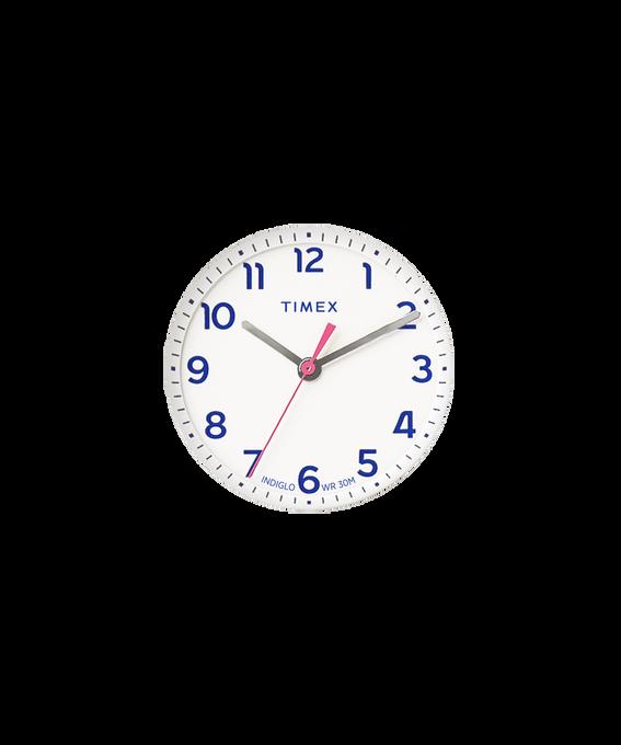Dial blanco/Minutero rosado  large