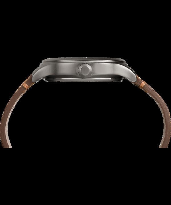 Reloj Expedition Scout de 43mm con correa de cuero Gray/Tan/Natural large