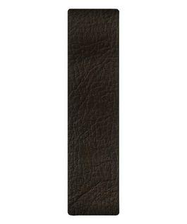Correa de cuero marrón oscuro deslizante  large