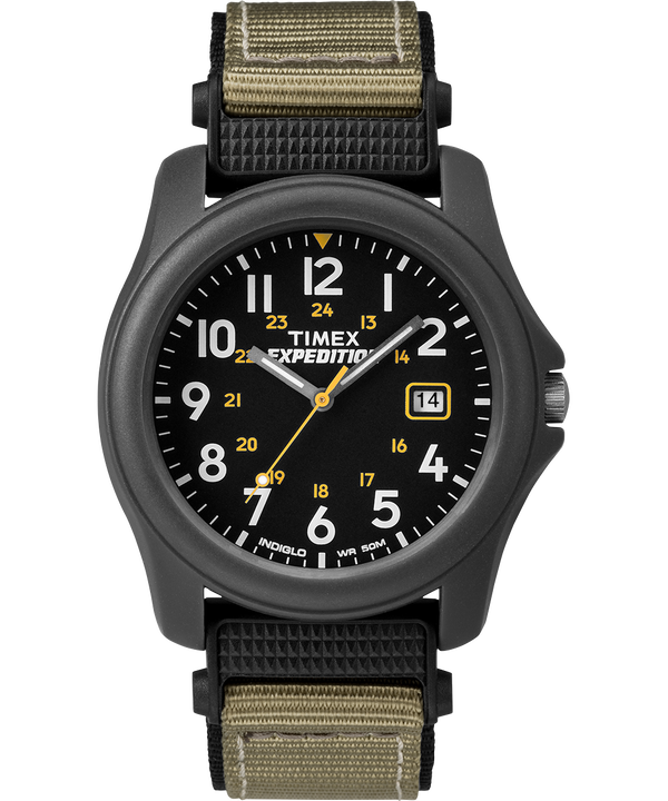 Reloj Expedition Camper de 39 mm con correa de nylon Gray/Black large