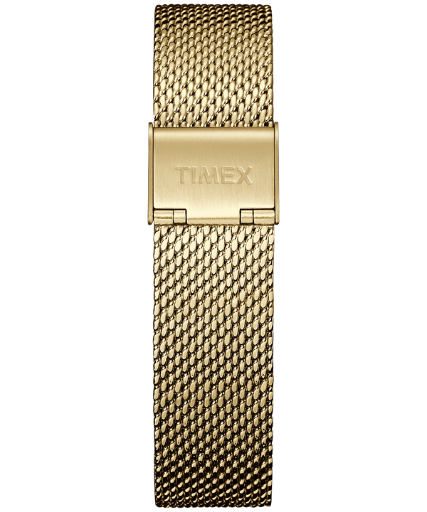 Correa metálica de 18mm Gold-Tone large