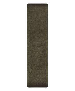 Correa deslizante de cuero color oliva  large