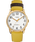 Easy-Reader-38mm-Exclusive-Color-Pop-Leather-Womens-Watch Gold-Tone/Yellow/Cream large