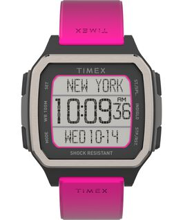 Command Urban 47mm Resin Strap Watch Orange/Pink large