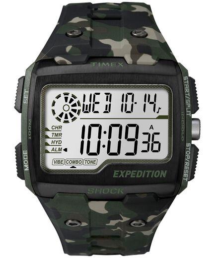 920489c279da Reloj Expedition Grid Shock de 50 nbsp mm con correa de resina Green Camo