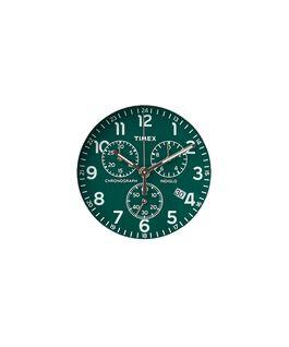 Dial verde/Minutero plateado  large