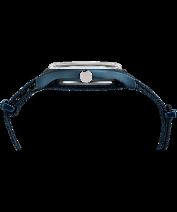 Reloj de aluminio MK1 de 40mm con correa de tela Blue large