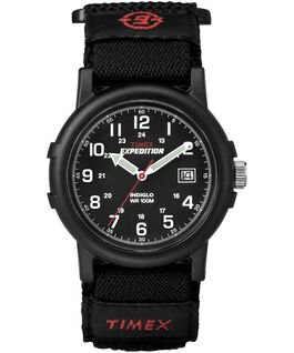 Reloj Expedition Camper de 38 mm con correa de tela FAST WRAP®  large