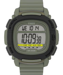 Reloj BST de 47mm con correa de silicona Gris/Plateado large
