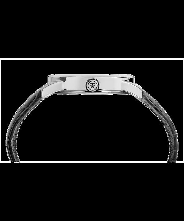Reloj Easy Reader Signature de 38mm con correa de cuero Chrome/Black/White large