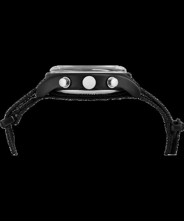 Reloj cronógrafo MK1 de aluminio de 40 mm con correa de tela Black large