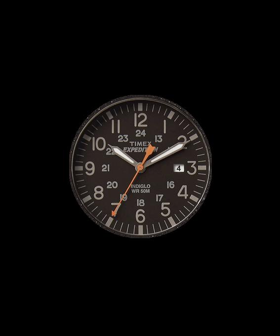 Dial negro/Minutero naranja  large