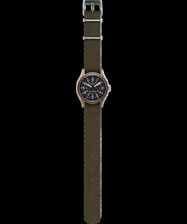 Reloj MK1 de 40mm con estilo de tela Verde large