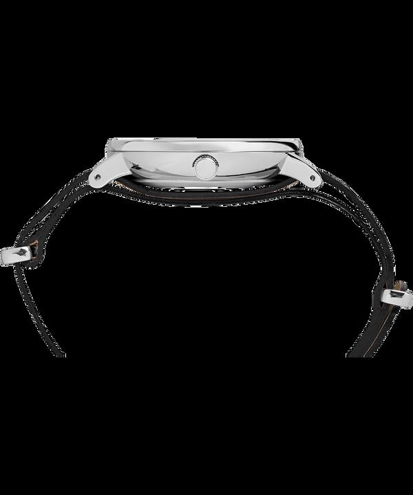 Reloj Southview de 41mm con correa de cuero Silver-Tone/Black large