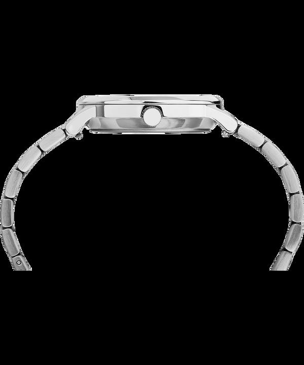 Reloj de acero inoxidable Classic Waterbury de 36mm Stainless-Steel/White large