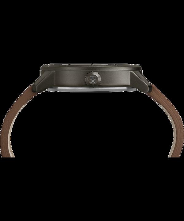 Mod44 Reloj de 44mm con correa de cuero Black/Brown large