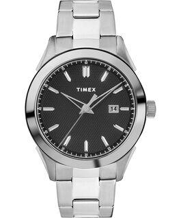 Reloj Torrington para hombre de 40mm con correa metálica Acero inoxidable/Negro large