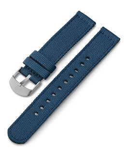 Correa de tela de 18mm Azul large