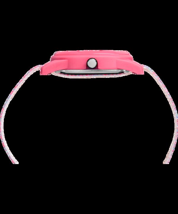 Reloj analógico de 32mm con correa de nylon para niños Pink/White large