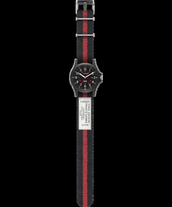 Reloj Acadia de 40mm con correa de tela Negro large