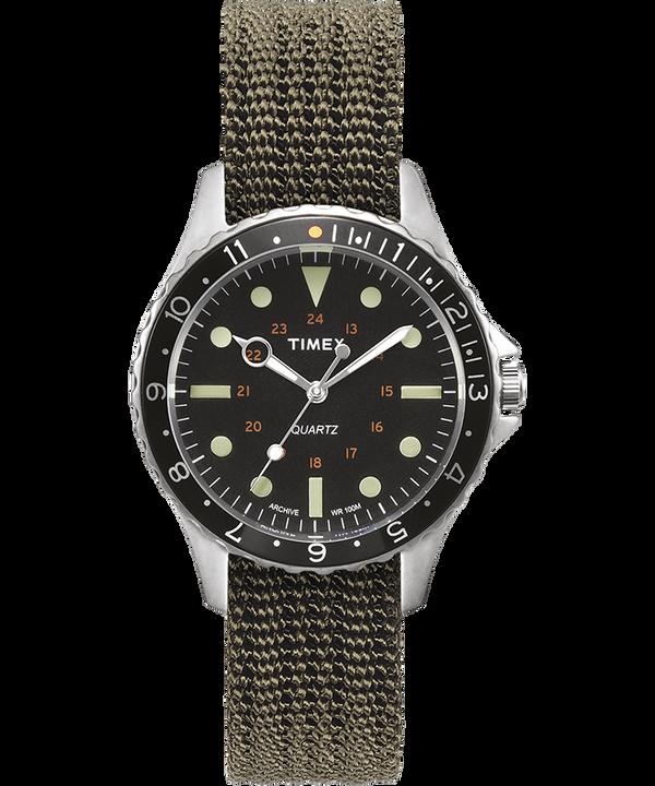 Reloj Navi Harbor de 38mm con correa de tela  large
