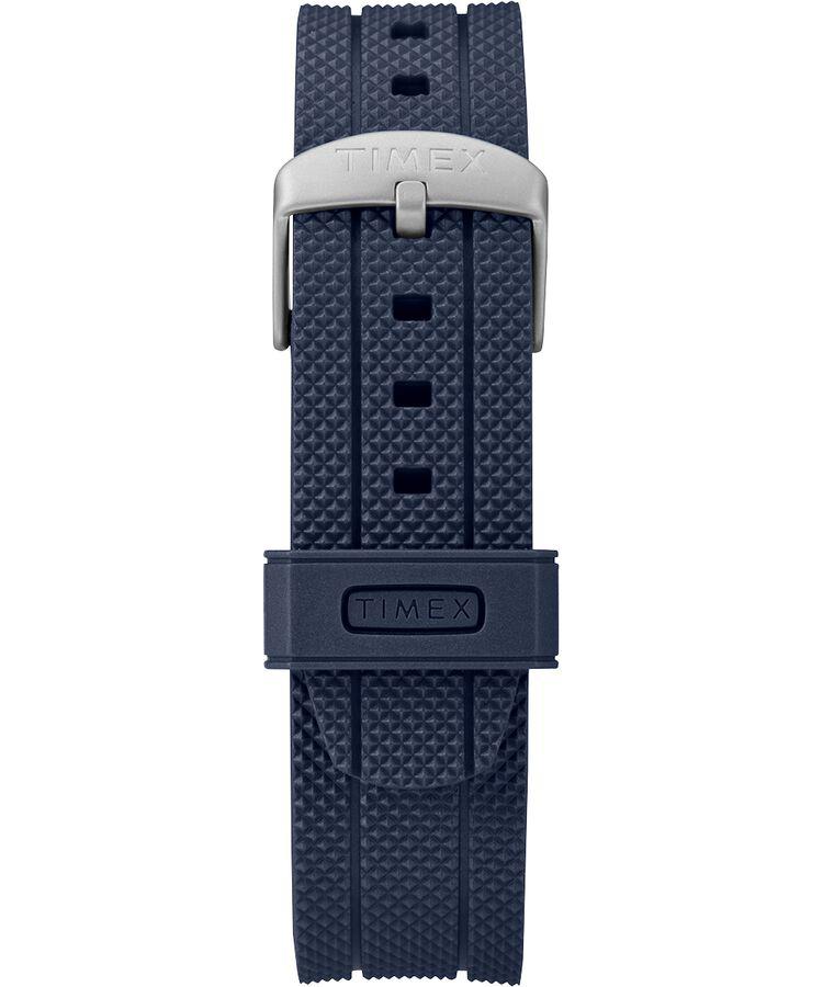 f6bce40f5fae Reloj Allied Coastline de 43 nbsp mm con correa de silicona Silver-Tone Blue