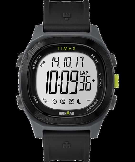 Reloj Ironman Transit de tamaño grande de 40mm con correa de resina Negro large
