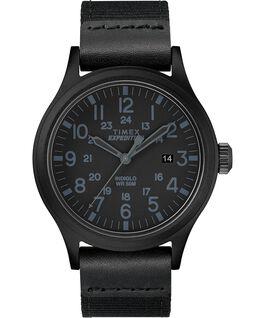Reloj Scout de 40mm con correa de tela Negro large