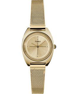Reloj Milano pequeño de 24mm con correa de malla metálica Dorado large