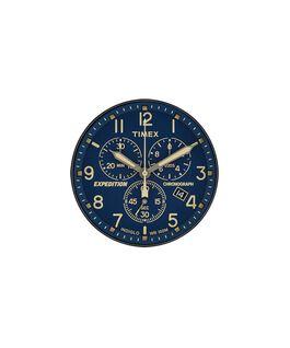 Dial azul/Minutero crema  large