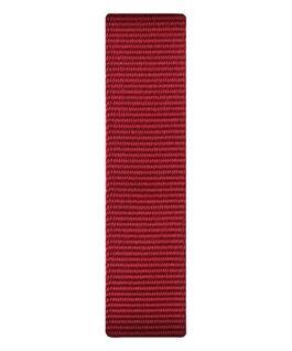 Correa de nylon roja deslizante  large