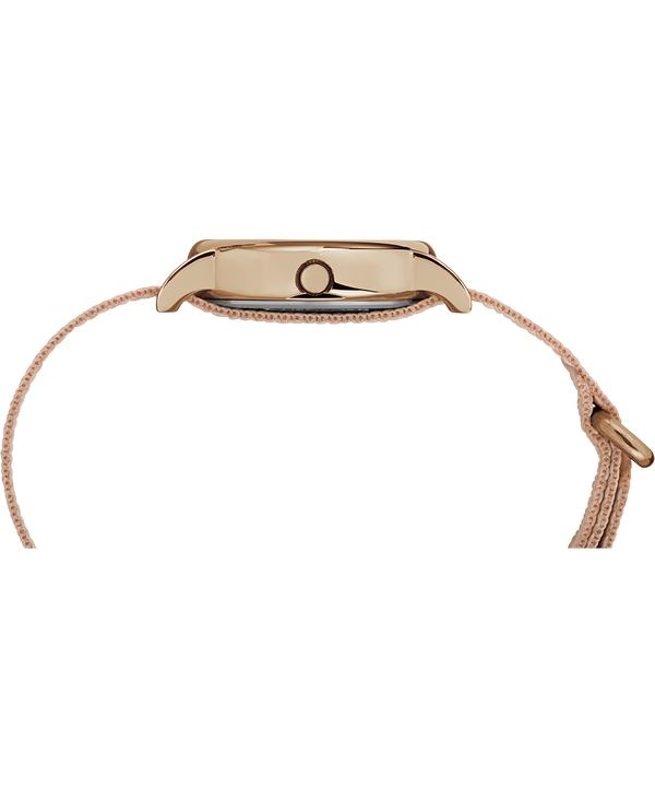 Reloj Weekender de 31mm con correa de nylon Rose-Gold-Tone/Pink/Cream large