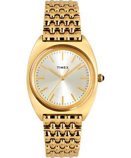 Reloj Milano de 33mm con correa de acero inoxidable Dorado large