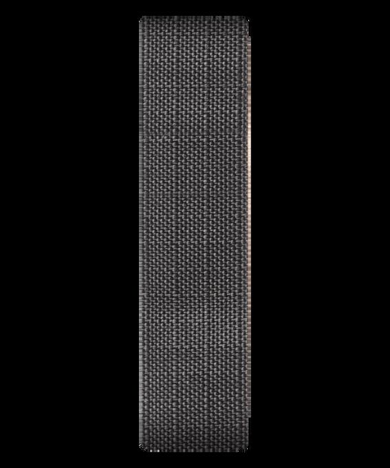 Correa deslizante de tejido de lona color gris  large