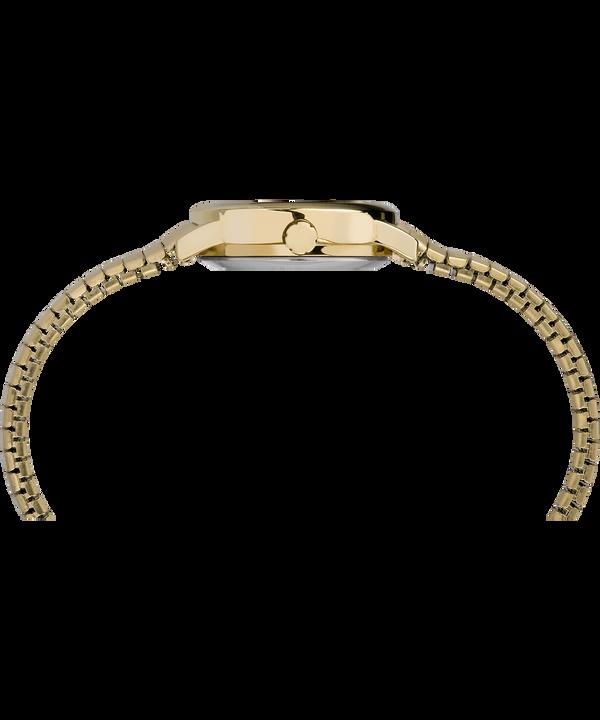 Reloj Easy Reader de 25mm con correa metálica Gold-Tone/White large