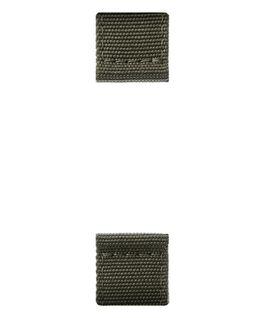 Correa de nylon de dos piezas color verde oliva  large