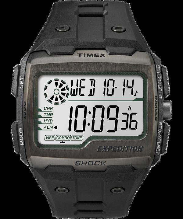 Reloj Expedition Grid Shock de 50mm con correa de resina Black/Gray large