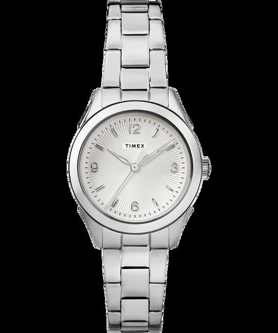 Reloj Torrington de 27mm para mujer con tres manecillas y correa metálica Acero inoxidable/Plateado large