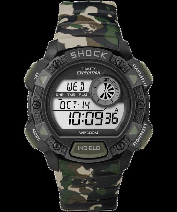Reloj Expedition Base Shock de 45mm con correa de resina Camo large