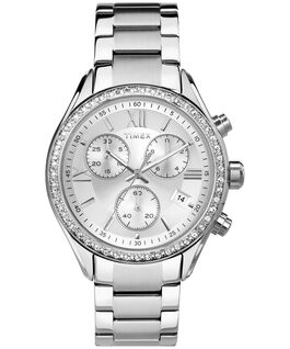 Miami 38mm Stainless Steel Watch Stainless-Steel/Silver-Tone large