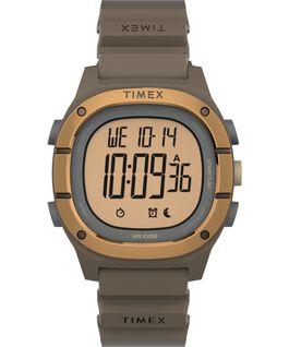 Reloj Command LT de 40mm con correa de silicona Marrón large