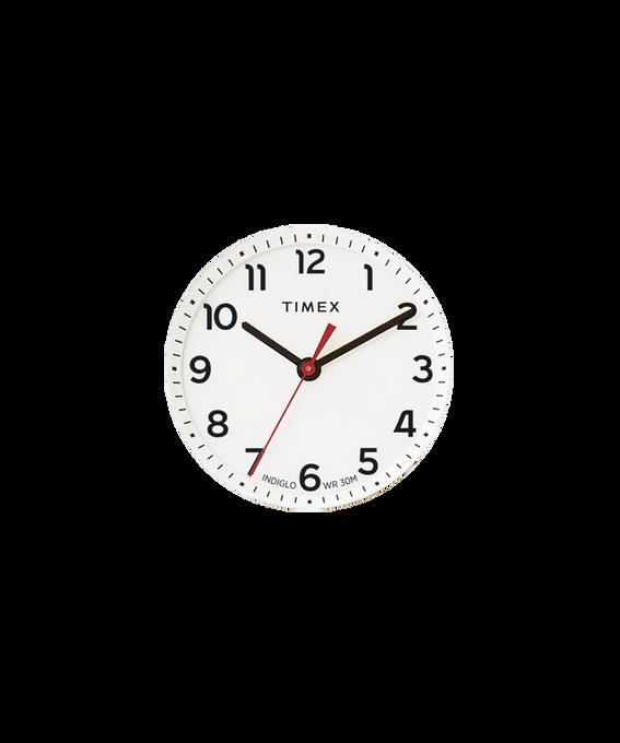 Dial blanco/Minutero rojo  large