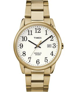 Reloj Easy Reader de 38mm con fecha y correa metálica Gold-Tone/White large